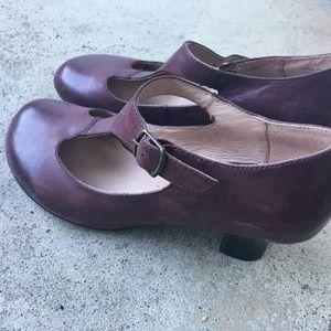 Miz Mooz Leather Strapped Heels